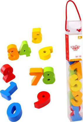 Wooden My Numbers