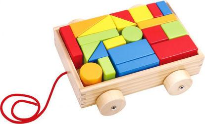 Wooden Mini Block & Roll