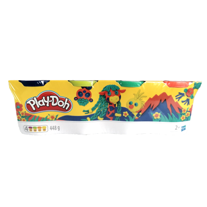 Picture of Playdoh 4 Tub Pack - Jungle Edition