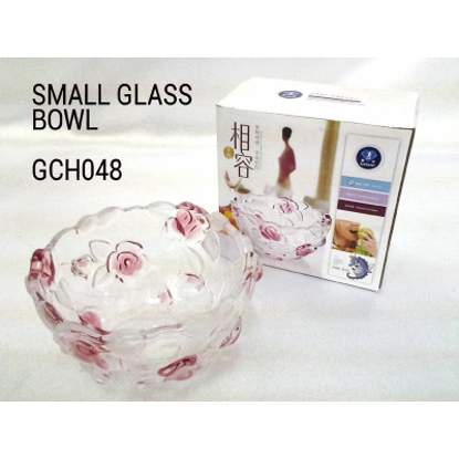 Picture of CRYSTAL ROSE SMALL GLASS BOWL
