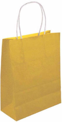Gold Bag with Handles
