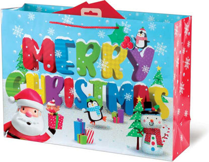 3D Characters Extra Large Gift Bag