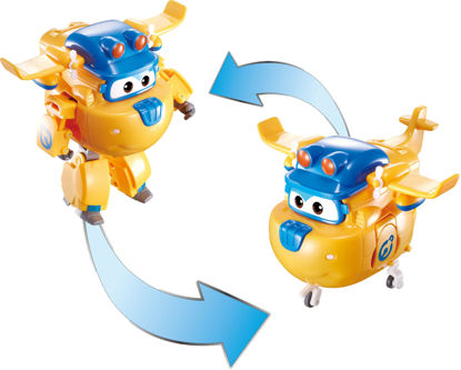 Super Wings Transforming Character Constr. Donnie