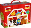 Wooden Farm Play Box