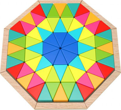 Wooden Octagon Puzzle