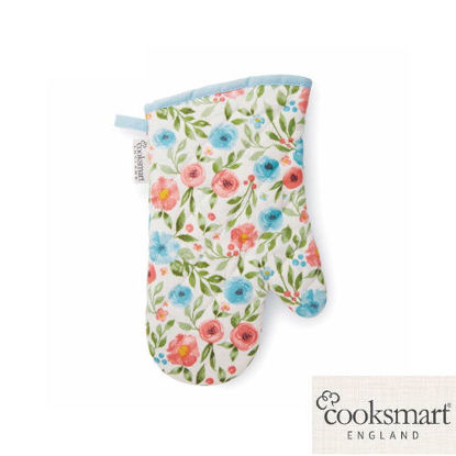Picture of Cooksmart Single Oven Glove Country Floral