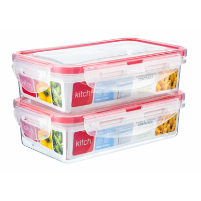 Picture of Kitch 2 Rectangular Containers 500ml & 500ml