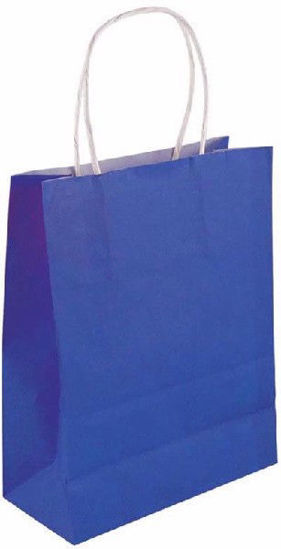 Royal Blue Bag with Handle