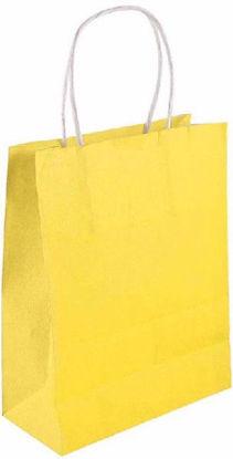 Yellow Bag with Handles