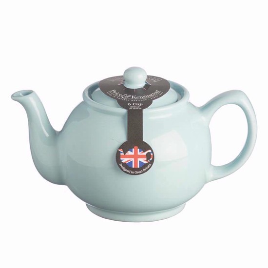 Price & Kensington Pastel Blue 6 Cup Teapot