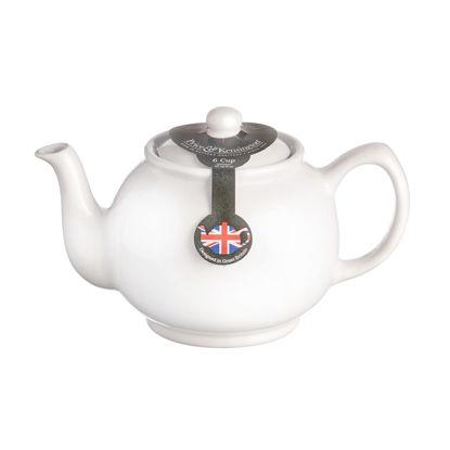Price & Kensington White 6 Cup Teapot
