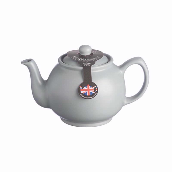 Price & Kensington Matt Grey 6 Cup Teapot