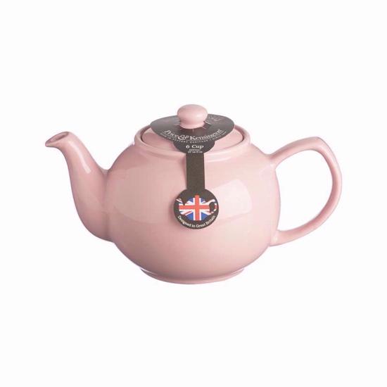 Price & Kensington Pastel Pink 6 Cup Teapot