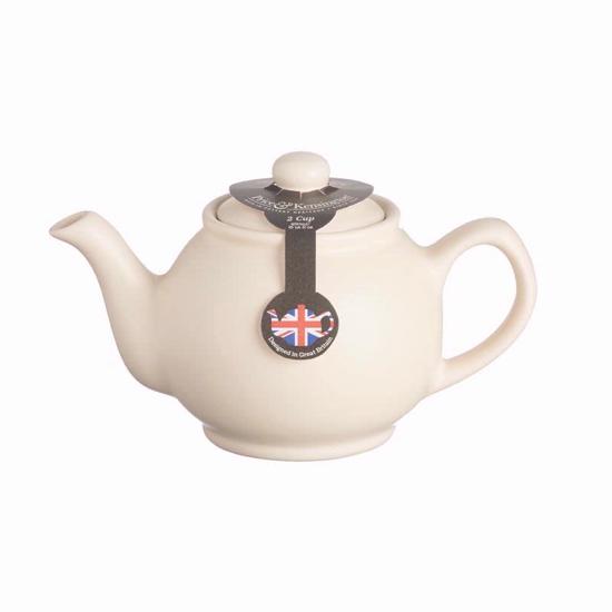 Price & Kensington Matt Cream  2 Cup Teapot